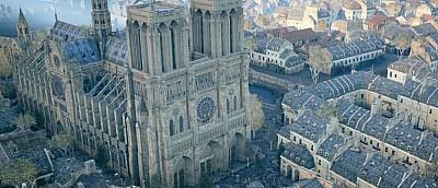 Собор из Assassin's Creed: Unity поможет восстановить Нотр-Дам после пожара