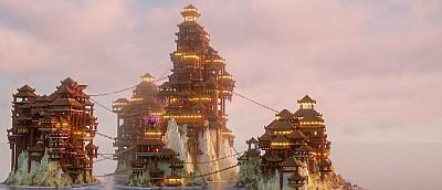 Самые невероятные постройки в Minecraft — огромные замки, города, деревни и даже мемы