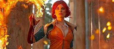 Лучший косплей Трисс Меригольд из The Witcher — рыжая бестия