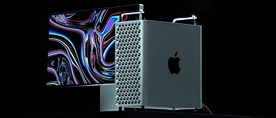 Apple представила новый Mac Pro почти за 400 тыс рублей. Дизайн напоминает терку на колёсиках