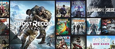 Ubisoft дарит бесплатный месяц подписки Uplay+ с доступом к большой коллекции игр на PC