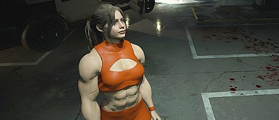 Мод для Resident Evil 2 превратил Клэр Редфилд в накачанную женщину с рельефным прессом — скриншоты
