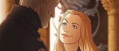 Художница показала, каким был бы сериал «Игра престолов», если бы вышел в формате аниме — арты