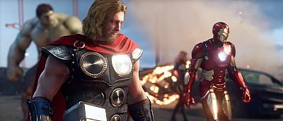 В сеть слили новый геймплей Marvel's Avengers за Тора. На видео он побеждает врагов при помощи Мьёльнира