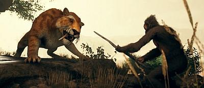 Обезьяны с копьями охотятся в релизном трейлере Ancestors: The Humankind Odyssey