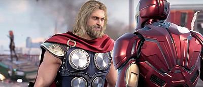 Железный человек, Тор, Халк и другие Мстители на новом арте Marvel's Avengers