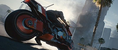 Пока не удалили: слитый геймплей Cyberpunk 2077, в котором герой катается на байке по городу (уже удалили)