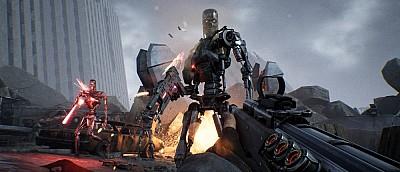 Много геймплея Terminator: Resistance — киборги заполонили всю планету