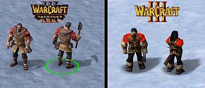 Ютуберы сравнили модели из оригинальной Warcraft 3 с ремастером