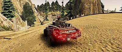 В Steam стала бесплатной постапокалиптическая гоночная игра Burndown