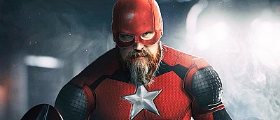Художник создал арты Красного Стража из нового фильма Marvel со звездой «Хеллбоя»