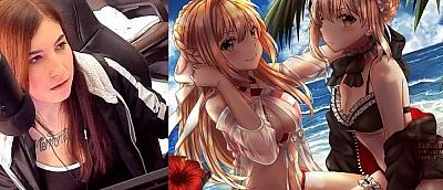 Снова Twitch бан. Сервис заблокировал канал художницы сексуальных аниме-рисунков (18+)
