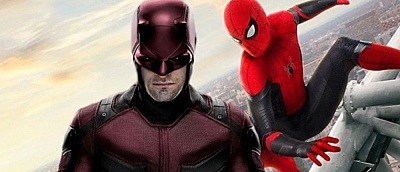 Художник показал постер, на котором Человек-паук и Сорвиголова вместе
