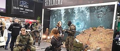 Обновлено: Отрубленные головы снорков и кровососов — стенд S.T.A.L.K.E.R. 2 на конференции в Киеве