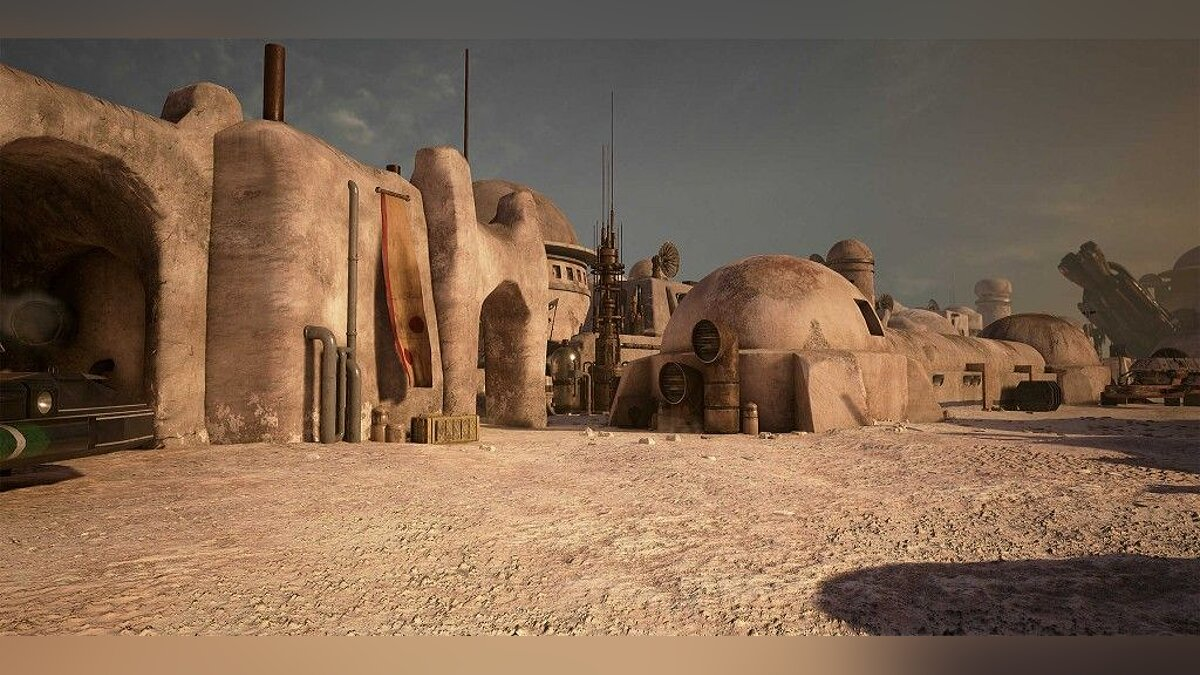 Художники из Obsidian воссоздают Star Wars на движке Unreal Engine 4