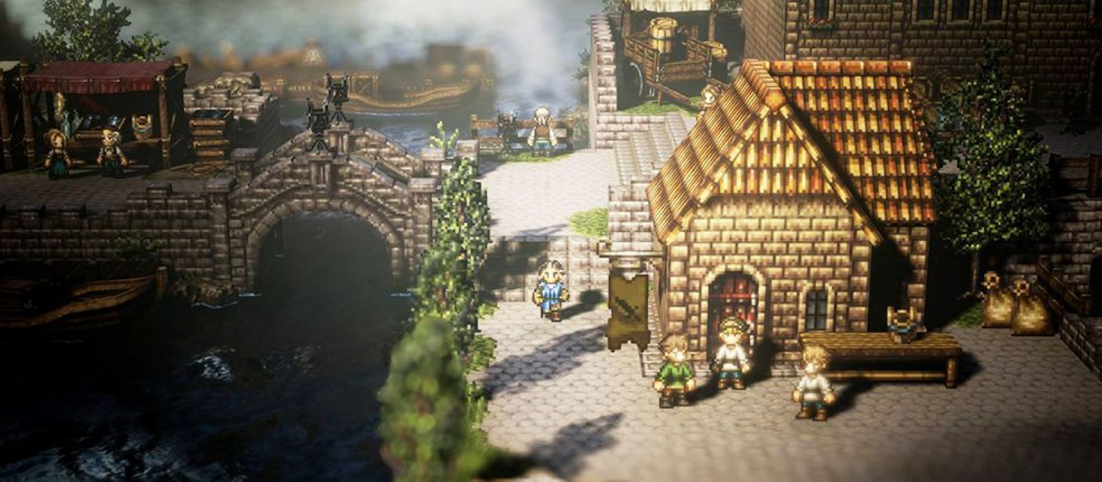 Square Enix анонсировала RPG Octopath Traveler для Nintendo Switch