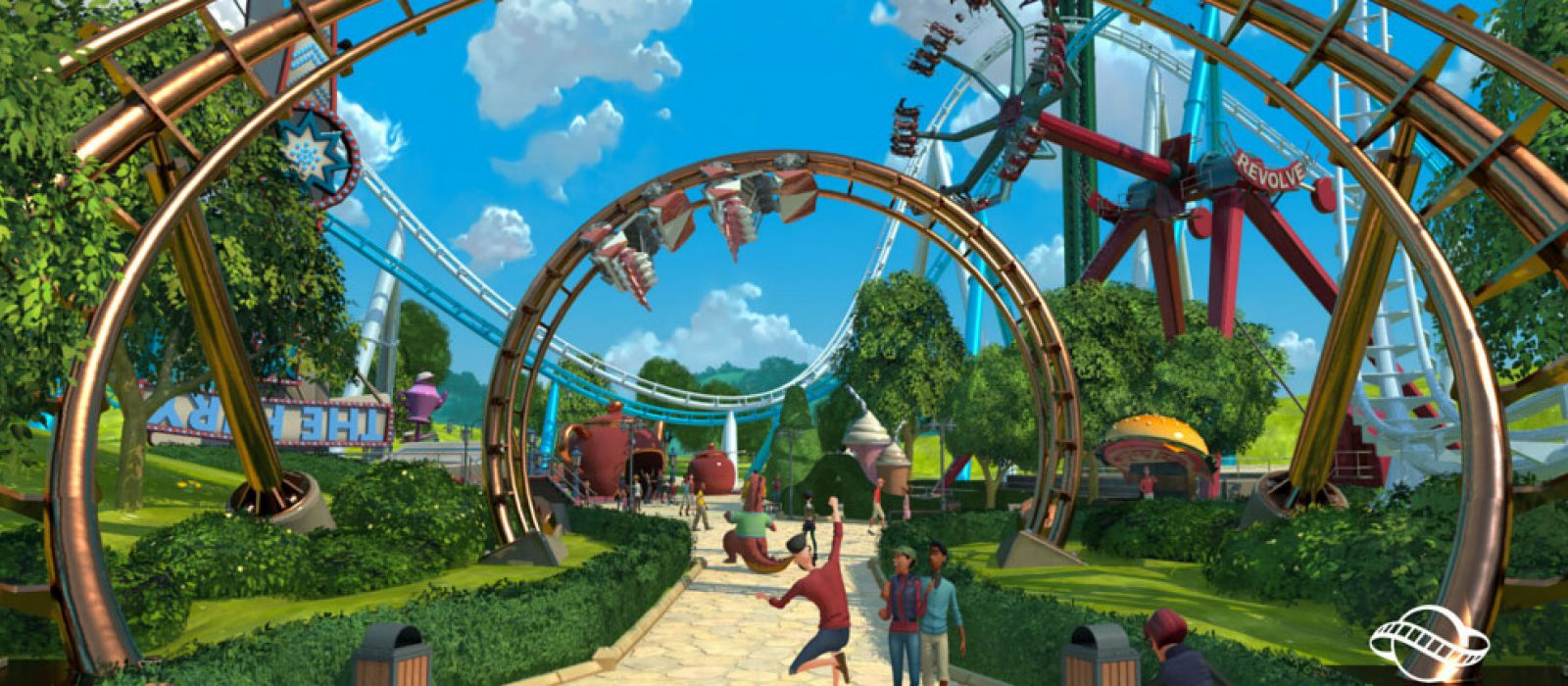 Amusement park tycoon online game