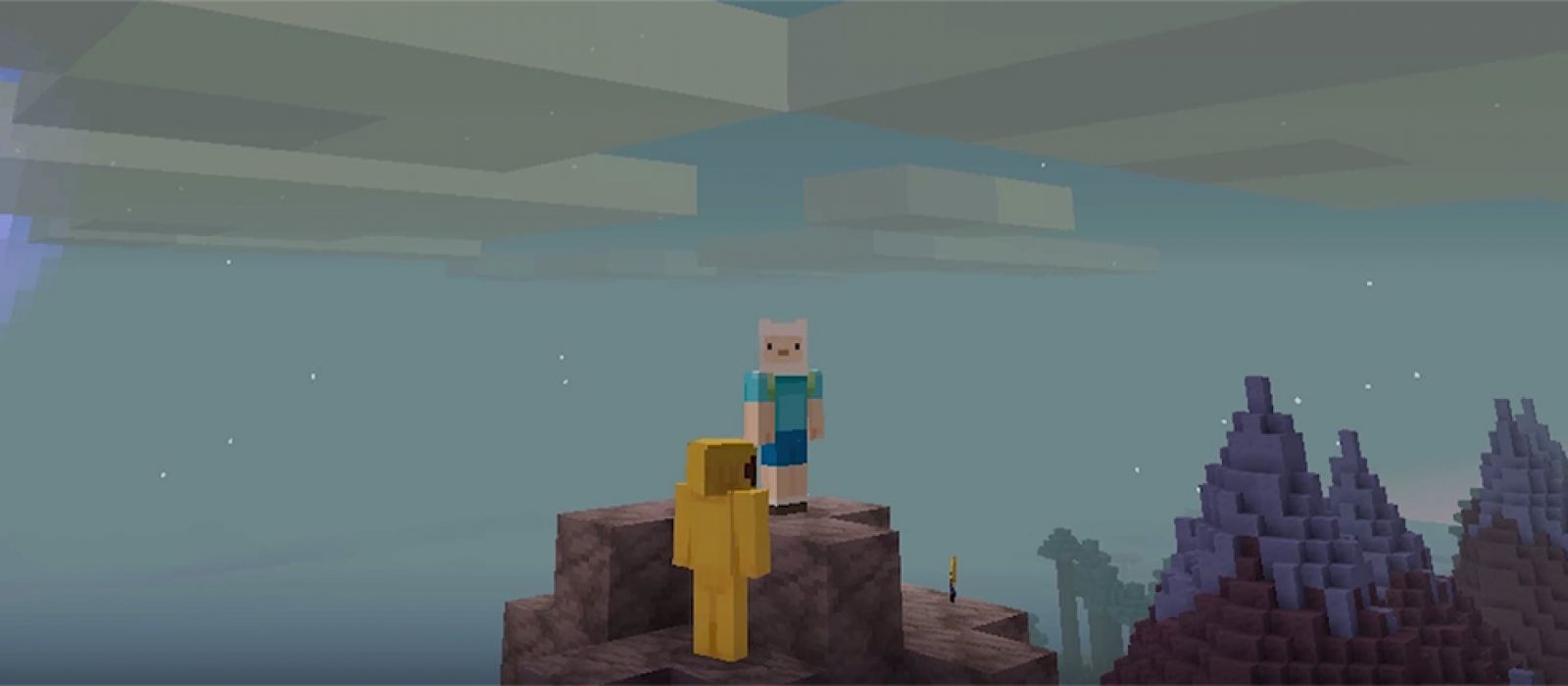 Для Minecraft выйдет дополнение Adventure Time Mashup Pack