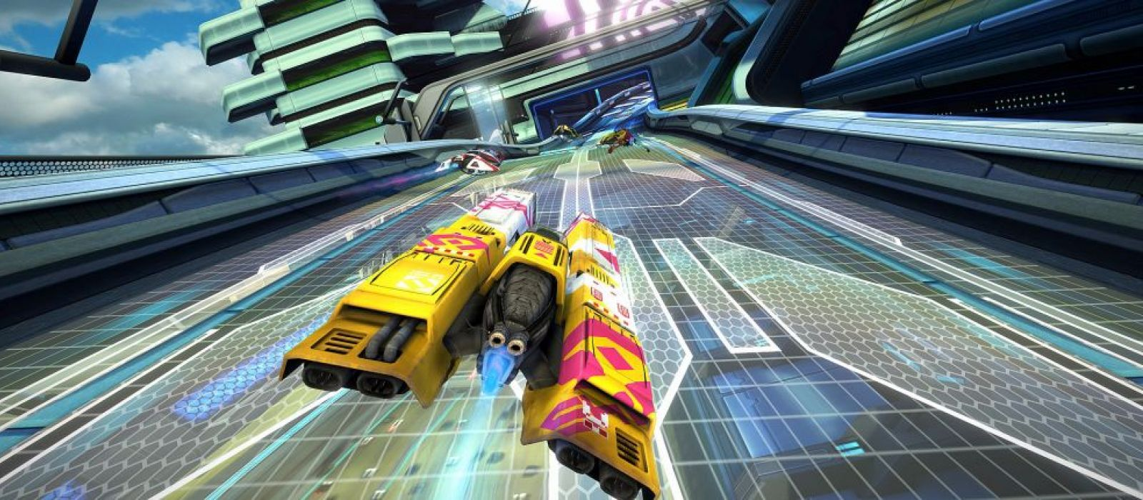 WipEout Omega Collection «ушла на золото»