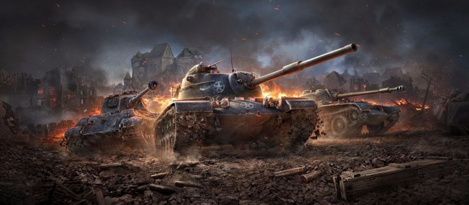 Разработчик World of Tanks студия Wargaming объединилась с Splash Damage