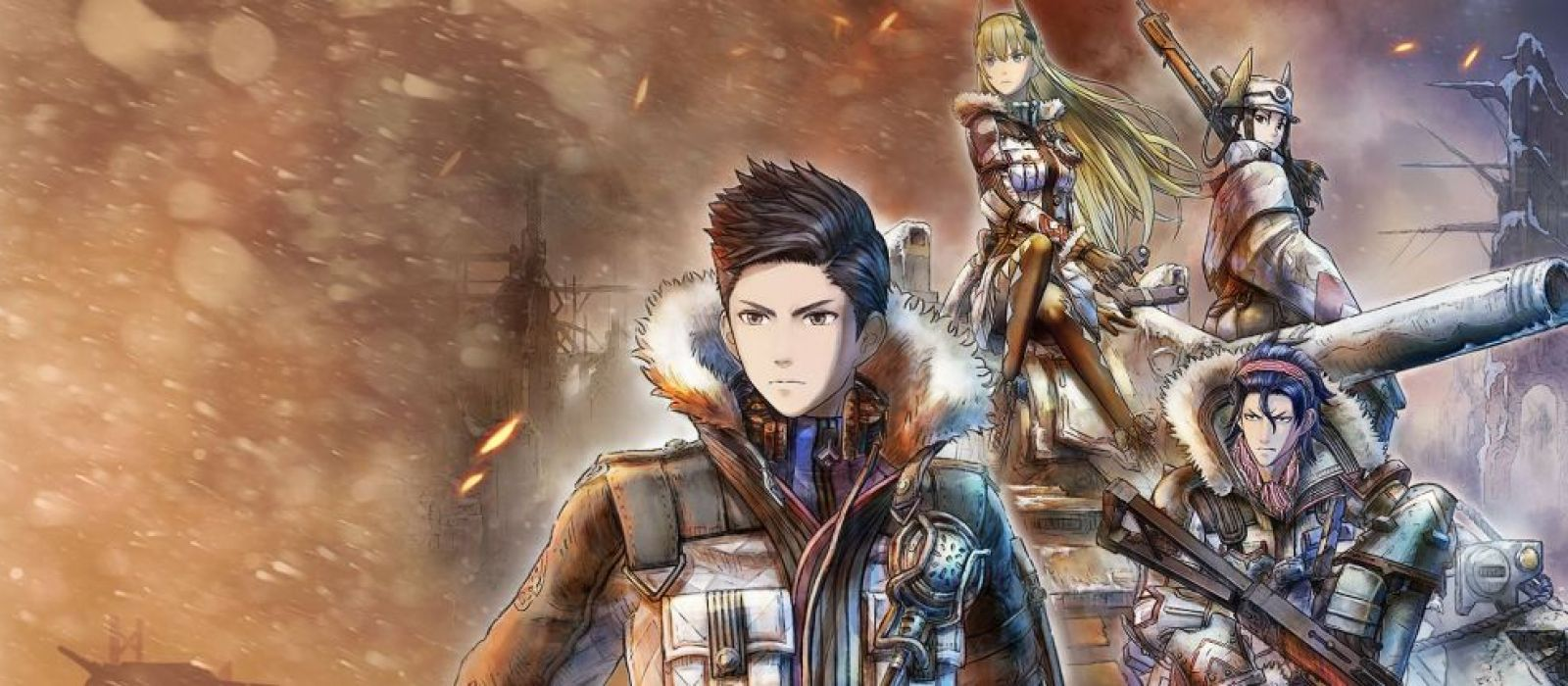 Стрим Valkyria Chronicles 4 — покатили на фронт!