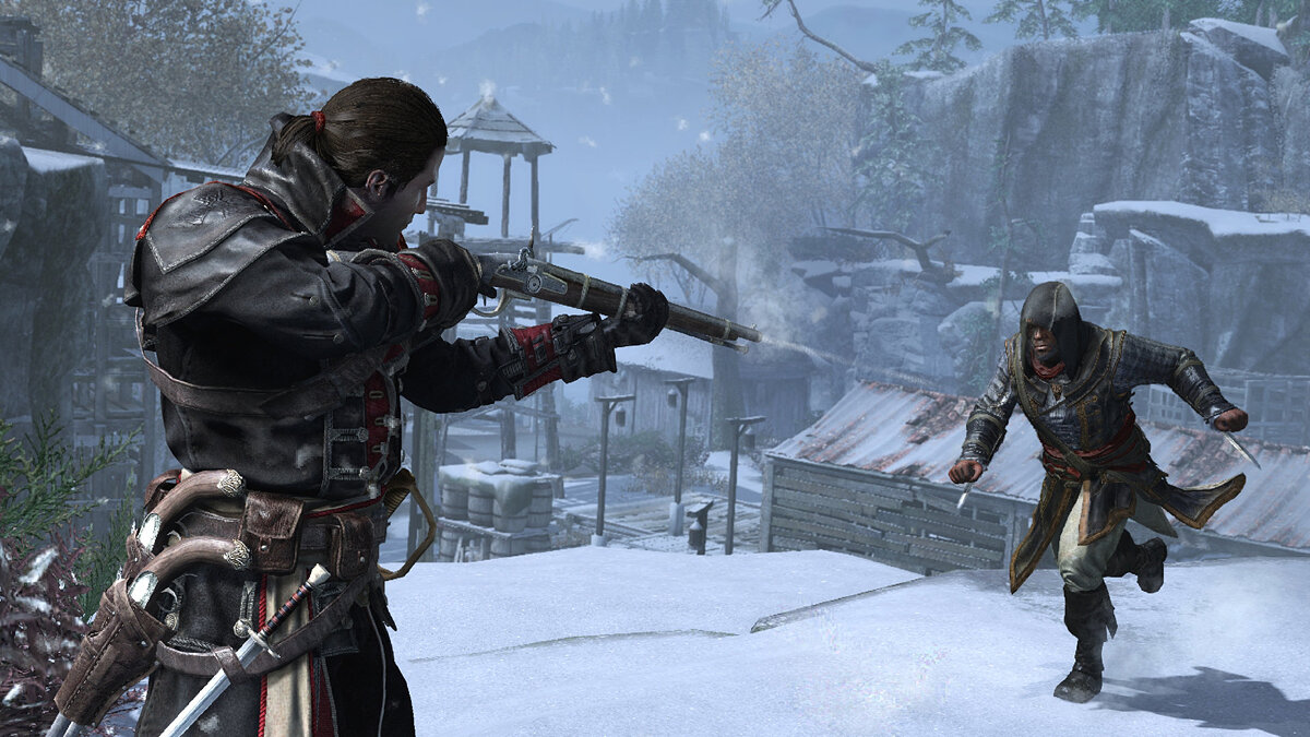 Сражения в Assassin's Creed: Rogue