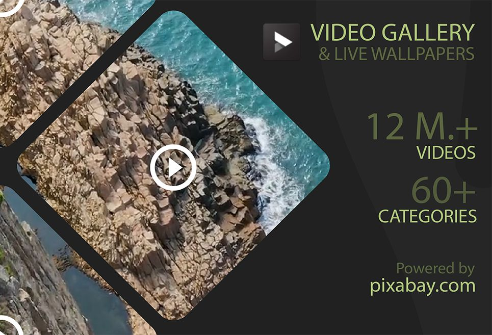 Video Gallery — HD Video Live Wallpapers